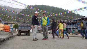 Andy mit Daniel in Jiri