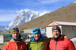 Wolfi, Daniel und Andy - drei Freunde