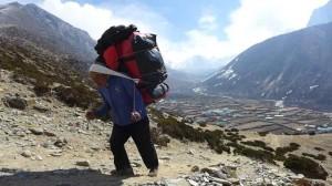 Ohne unsere Sherpa geht gar nichts