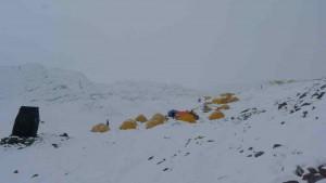 ABC Lager auf 6.440m