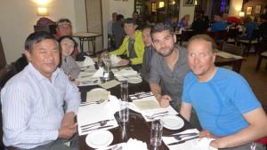 Abendessen mit Dawa und seinem Vater Ang Tshering Sherpa