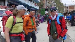 Andy ,Wolfi und Klemens in Kodari