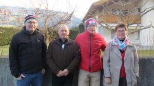 Florian Brunner mit Familie (Foto: Sabine Holzer)