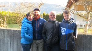 Wolfgang Klocker mit Familie ( Foto: Sabine Holzer)