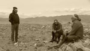Klemens, Flo und Andy bei Akklimatisationstour auf 4.700m