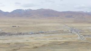 Thingri liegt im tibetischen Hochland
