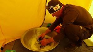 Wolfi ist unser Saubermacher  Foto Klemen Bichler