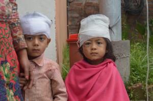 Verletzte Kinder