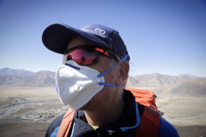 Andy bei der Akklimatisierungstour in Xegar (Foto Daniel Kopp)