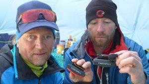 Andy testet mit Klemens den Ceecoach (Foto Wolfgang Klocker)
