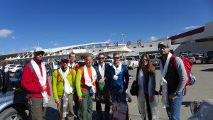 BastiJan, Daniel, Martin, Andy, Klemens, Wolfi, Anja und Oliver (Foto Dawa)