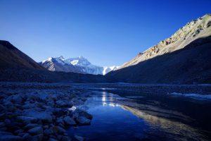 MT Everest, unser Traumziel ist heute Morgen erreicht worden (Foto Daniel Kopp)