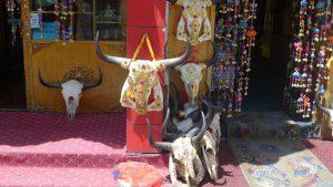 Souvenirladen in Lhasa (Foto Klemens Bichler)