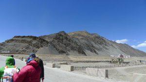Unser Wanderziel der Akklimatisierungstour in Xegar (Foto Klemens Bichler)