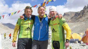 Reinhard, Andy und Martin im BC (Foto Wolfgang Klocker)