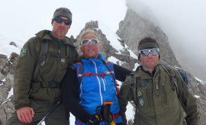 Wolfi, Andy und Klemens bei einer Tour (Foto Florian Brunner)