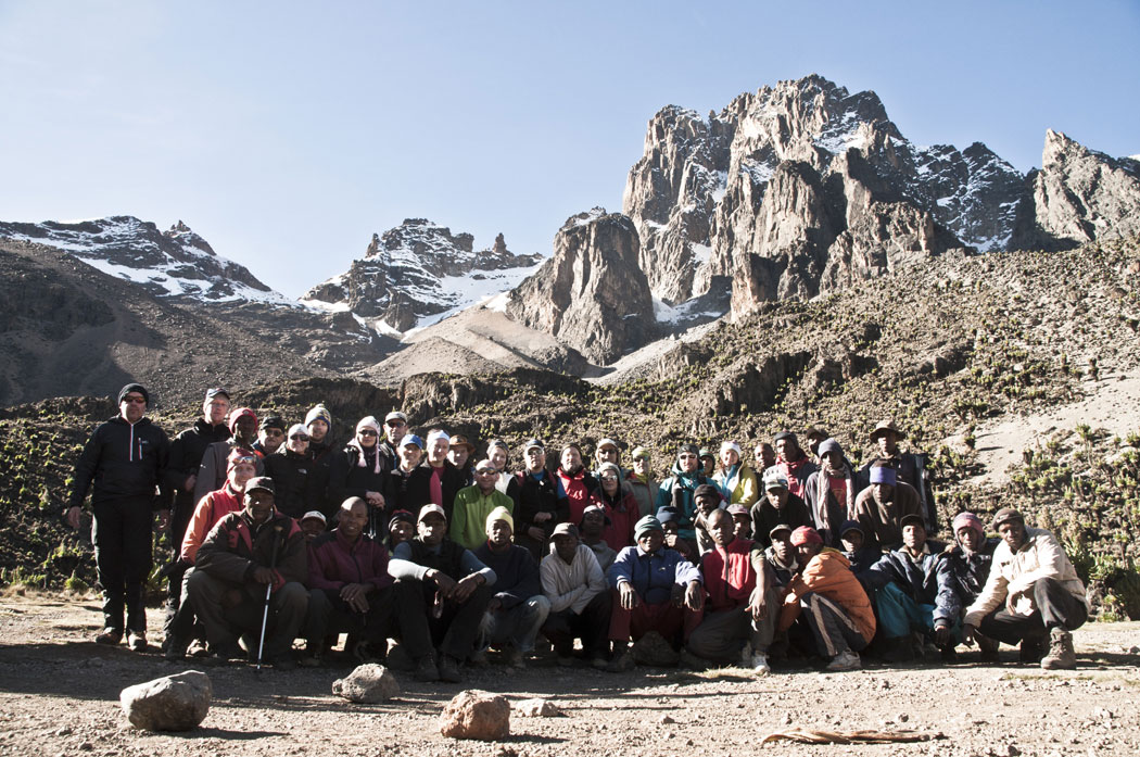 MT. Kenya 2012 group picture