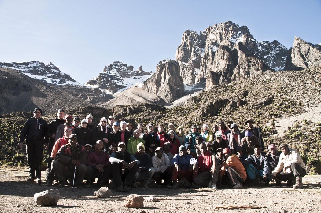 MT. Kenya 2012 Gruppenfoto