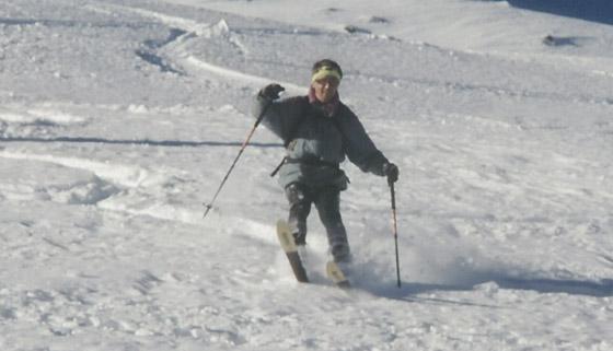 Abfahrt Reiterkarspitze