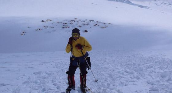Akklimatisierungstour Mt. McKinley