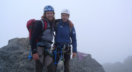 Carstensz Pyramide summit photo