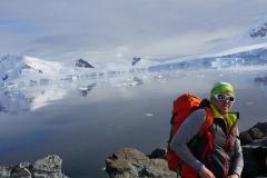 Andy fühlt das Flair der Antarktis (Thomas Andreas Beck)