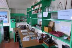 Einblick in die Forschungsstation Port Lockroy (Andreas Unterkreuter)