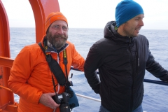 Frank und Anda in der DRAKEPASSAGE (Thomas Andreas Beck)