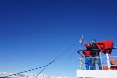 Wir bauen die KW-Antenne für den Heimatfunk auf (Thomas Andreas Beck)