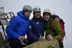 Gipfelsieg Illiniza Norte-5126m Flo, Andy und Roger (Foto: LIFE EARTH Reisen)