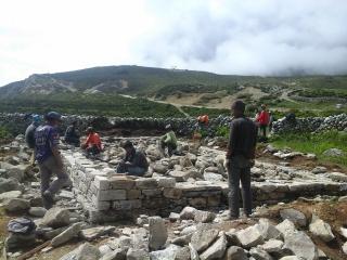 Erdbebenhilfe für Sherpa Tenzing - Frühjahr 2015