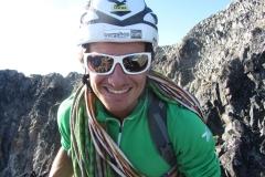 Daniel ahnt den nahen Gipfelsieg (Foto: Andreas Nothdurfter)
