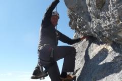 Andy beim Aufstieg zum Gamsleitenkopf Foto: Sigi Brachmayer
