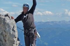 Andy beim Aufstieg. Foto: Robert Joelli
