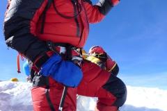 Andy am Gipfel des MT Everest 8848m (Foto Klemens Bichler) - Kopie