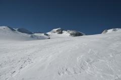 Aufstieg - Gipfel im Hintergrund - Foto: Andi Scharnagl :: woitatscher.at