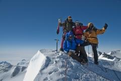 Am Gipfel des MT Vinson - Foto: Andi Scharnagl :: woitatscher.at