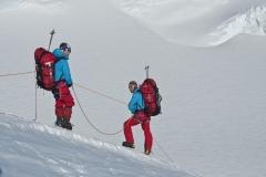 Schnee der Antarktis - Foto: Andi Scharnagl :: woitatscher.at