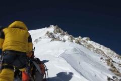 Umkehrpunkt auf ca. 7650m - 17-05-2011