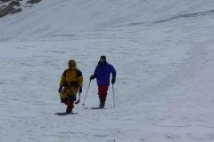 Lagpa und Andy kehren vom Gipfelversuch in das Lager 3 zurück - 17-05-2011