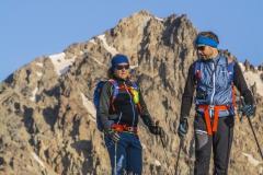 Anda mit Andy beim Aufstieg zum Alam-Kuh (Andreas Scharnagl)