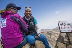 Andy mit Gerlinde Kaltenbrunner am Gipfel des Alam-Kuh 4850m  (Andreas Scharnagl)