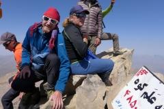 Andy und Andi am Gipfel des Alam-Kuh (Andreas Unterkreuter)