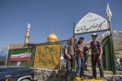 Blick auf den Damavand vom Startpunkt bei der Moschee auf 3040m _ Andi - Anda - Andy (Andreas Scharnagl)
