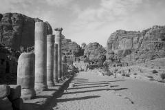 Säulenallee in PETRA (Foto: Daniel Kopp)