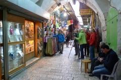 Filmen in den Gassen von Jerusalem (Foto: Andreas Unterkreuter)