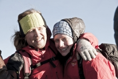 Andy und Juliane am Gipfel (Foto: Andreas Scharnagl)