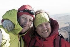 Gerhard und Andy am Gipfel (Foto: Andreas Scharnagl)