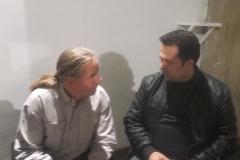 Andy mit Mohammed (EP2LMA), einer der nur 29 HAMRADIO-Amateurfunkern der 80 Millionen Einwohner des Iran (Sabine Holzer)