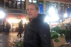 Andy am Basar in Teheran (Sabine Holzer)